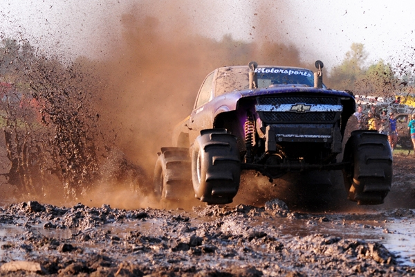 """Dirty And Proud: Joe Coffman's """"Thrill Billy"""" Mud Racing Chevy ..."""